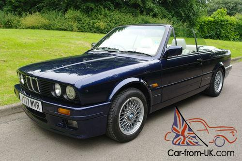 1991J BMW E30 325i MOTORSPORT CONVERTIBLE