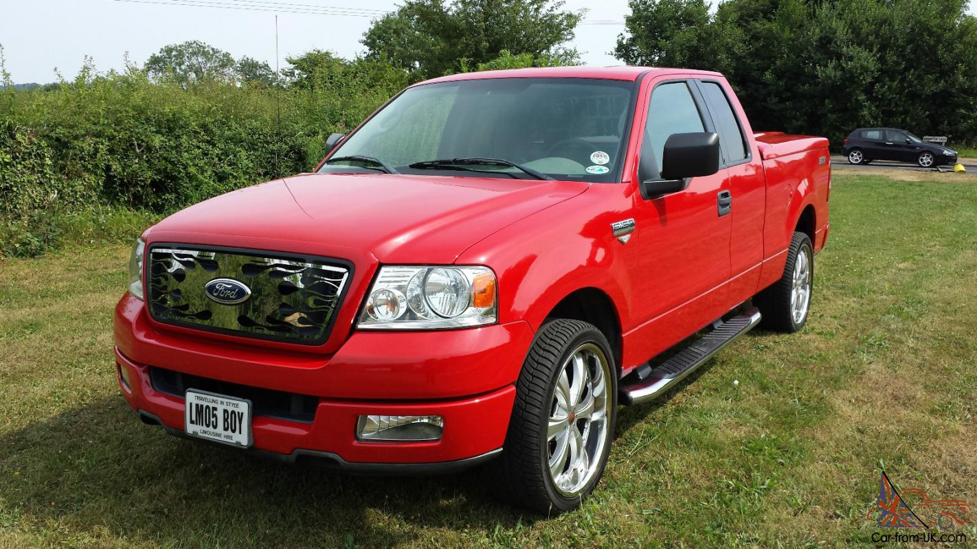 american ford f150 v8 auto 2005 low mileage pick up. Black Bedroom Furniture Sets. Home Design Ideas