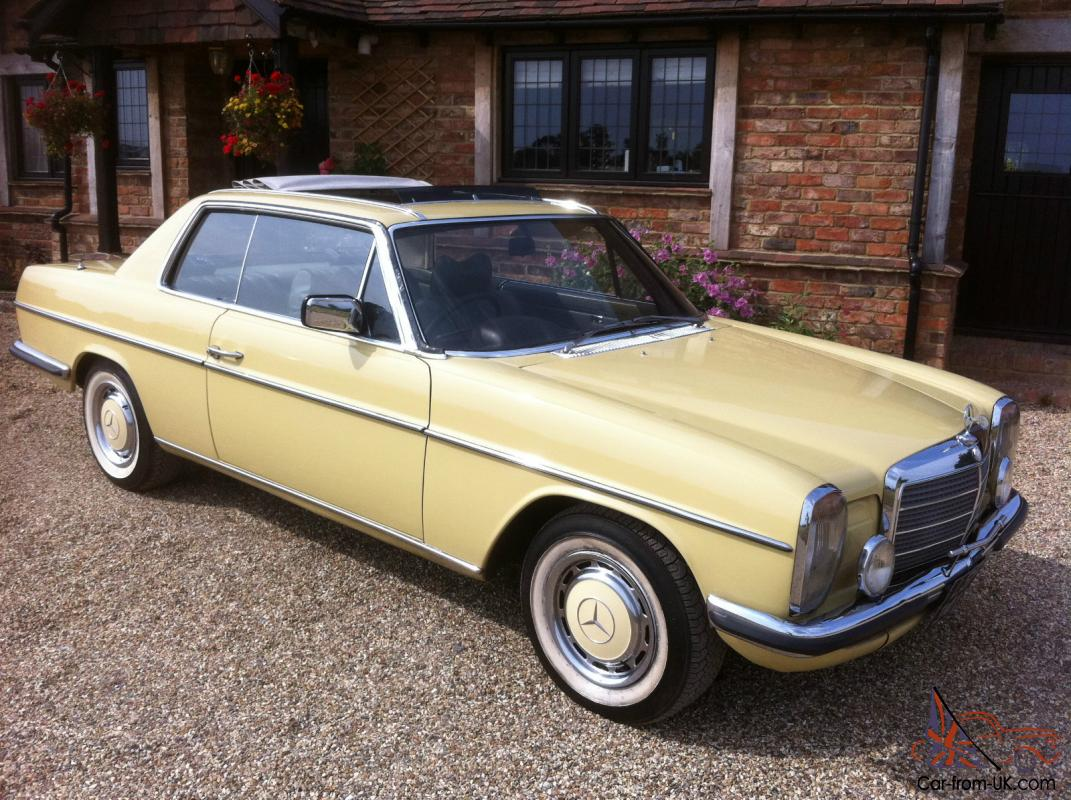 Mercedes w114 coupe 280ce 280se convertible pillarless for Mercedes benz 280ce for sale
