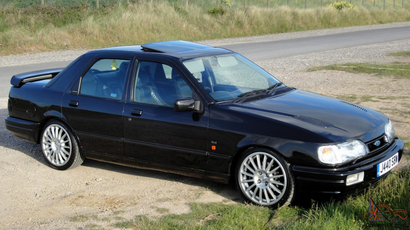 1992 j reg ford sierra sapphire rs cosworth 4x4 330bhp. Black Bedroom Furniture Sets. Home Design Ideas
