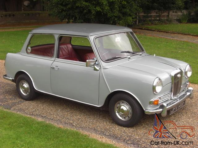 1968 Wolseley Hornet 998cc Red Leather Interior
