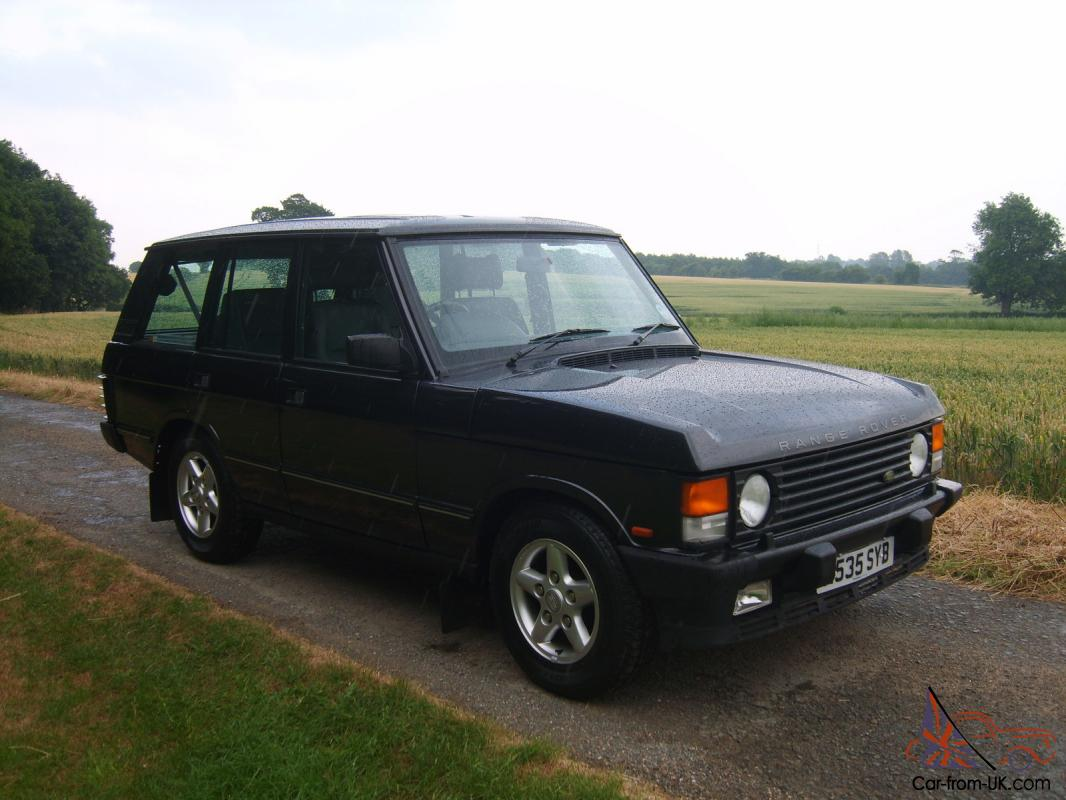 1994 range rover classic tdi se soft dash not many left like this. Black Bedroom Furniture Sets. Home Design Ideas
