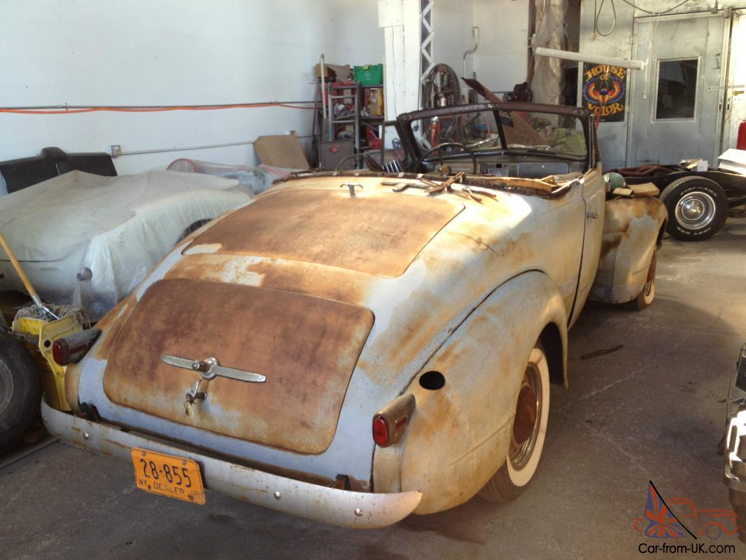 1937 lasalle convertible roadster project for sale or trade