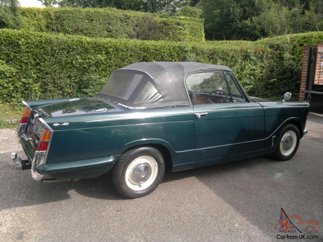 Populaire TRIUMPH HERALD 1200 CONVERTIBLE CLASSIC, 1967 KA07
