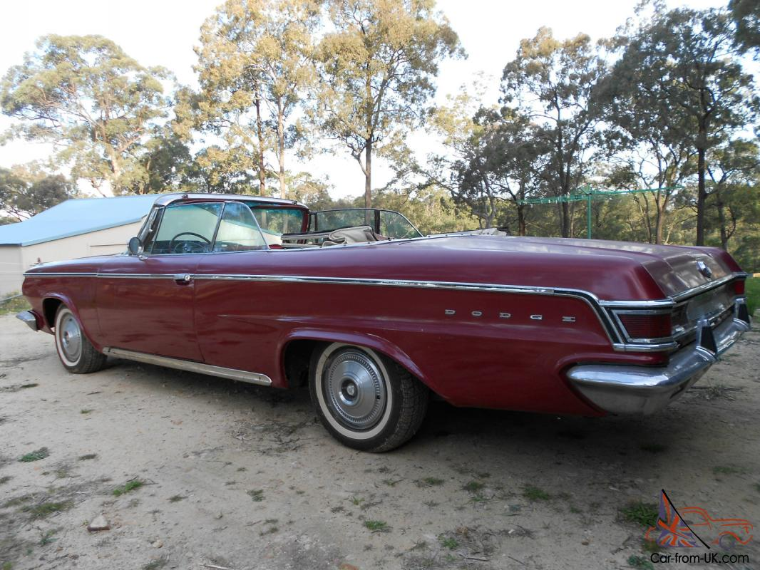 2008 Volvo Convertible For Sale >> 1964 Dodge Convertible in Sydney, NSW