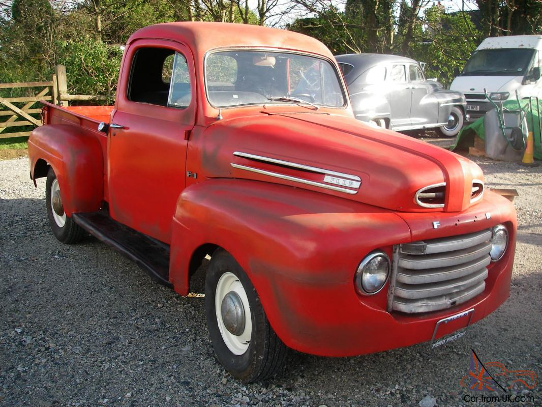 1949 Ford F1 Halfton Shortbed Pickup