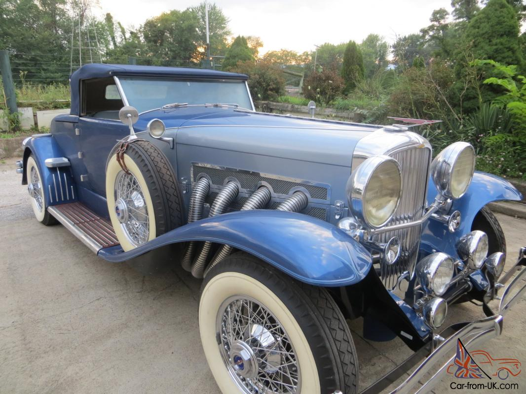 murphy roadster replica cord auburn 1931 1935 horch benz for sale