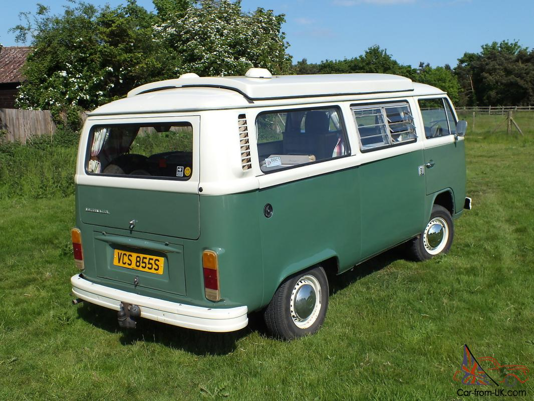 Vw Camper Van Type 2 Bay Window