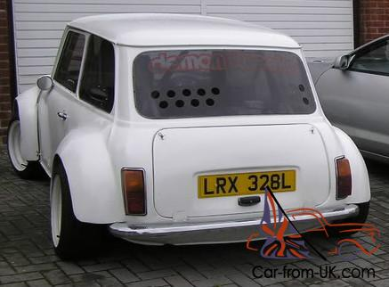 1972 Austin Mini 2 Seater Track Day Car With 4age Mr2 Rear Engine Very Fast Z