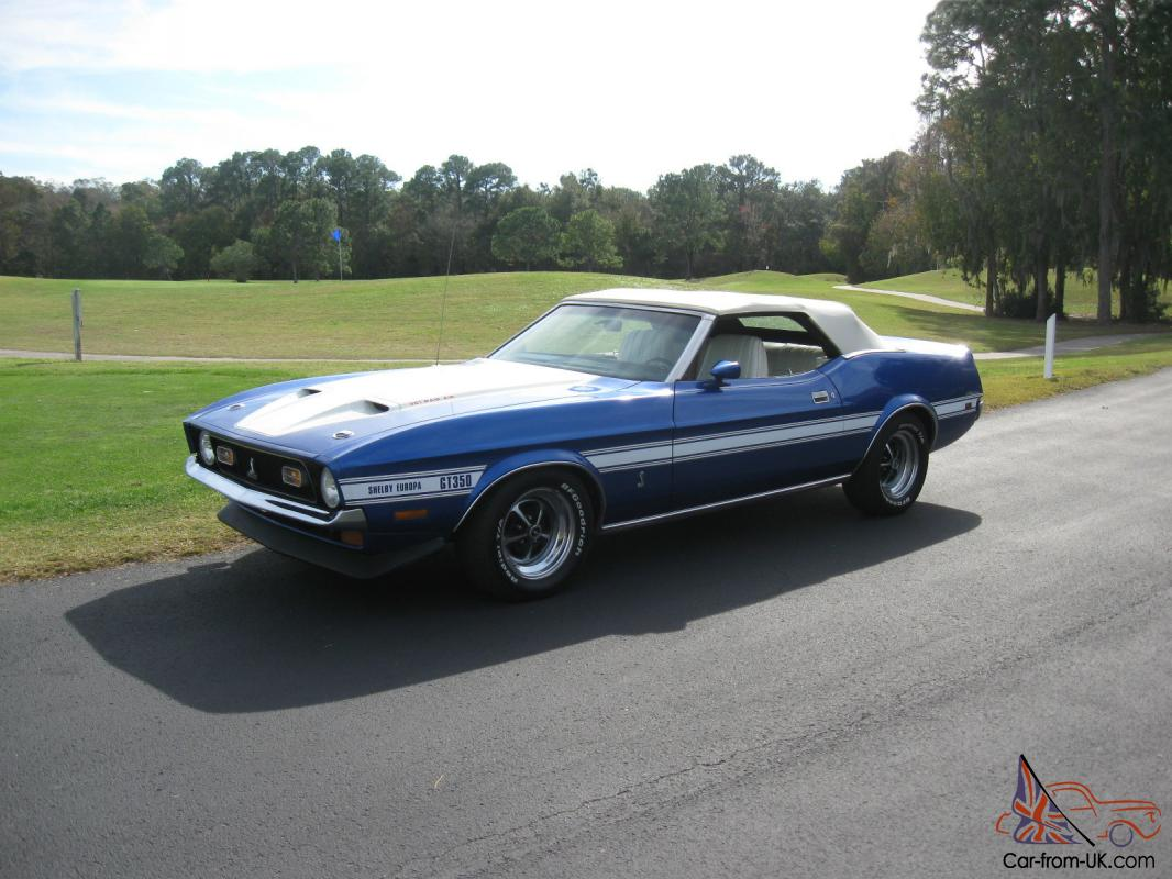 1972 ford shelby mustang gt 350 europa clone