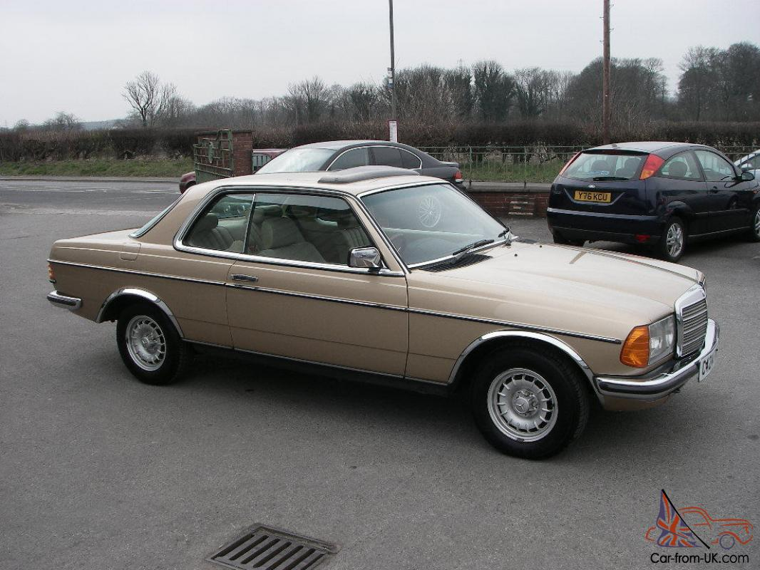 1985 mercedes 280ce w123 pillarless coupe. Black Bedroom Furniture Sets. Home Design Ideas