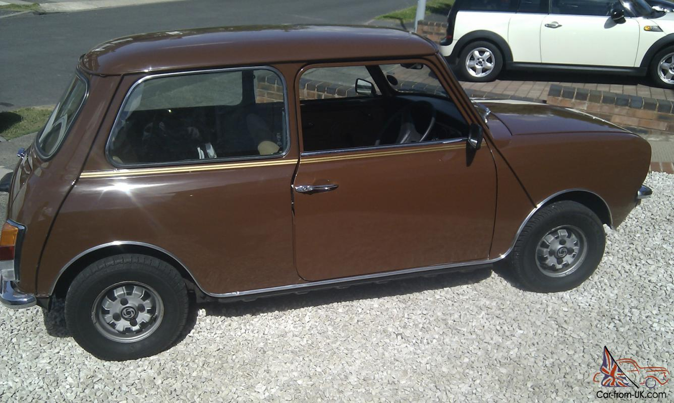1979 austin morris mini clubman brown. Black Bedroom Furniture Sets. Home Design Ideas