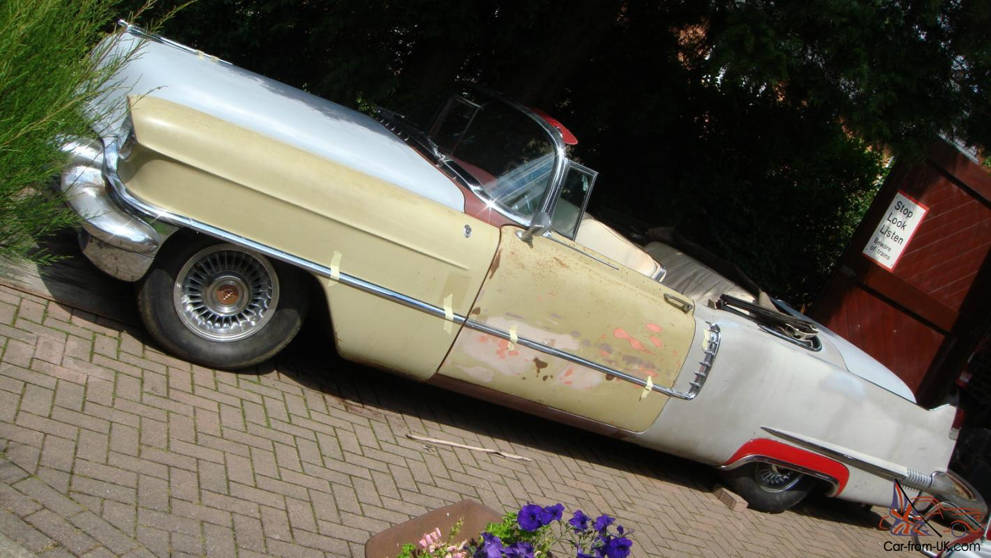 Cadillac 1956 convertible to restore caddy convertible for American classic usa