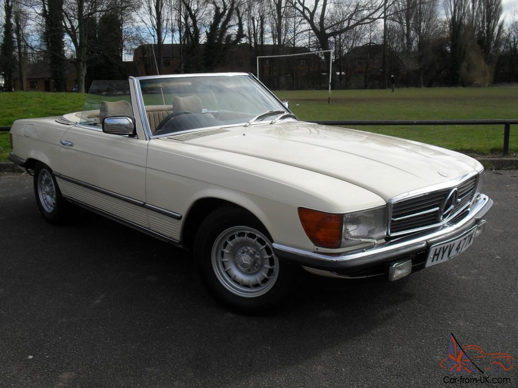 Mercedes Benz Sl500 Auto Convertible 107 Series 1981 W