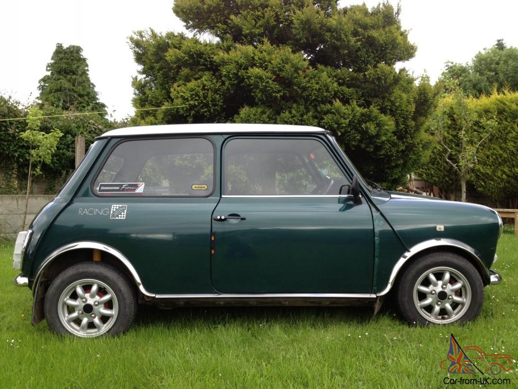 Rover Mini Racing Green Flame Checkmate Special Edition Very Good