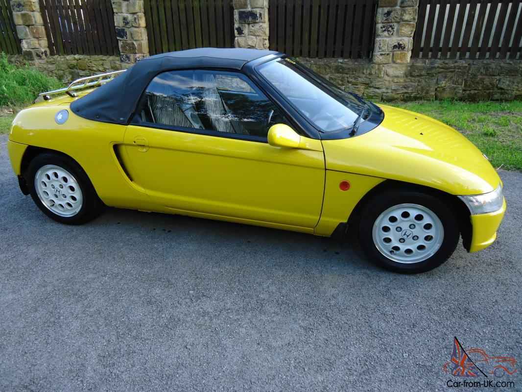 1991 Honda Beat 660cc Mid Engine, 2 seater Soft Top Car, Immaculate ...
