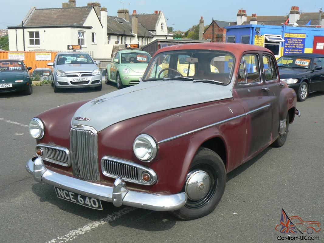 1954 HUMBER SUPER SNIPE RESTORATION PROJECT BARN FIND CLASSIC CAR ...