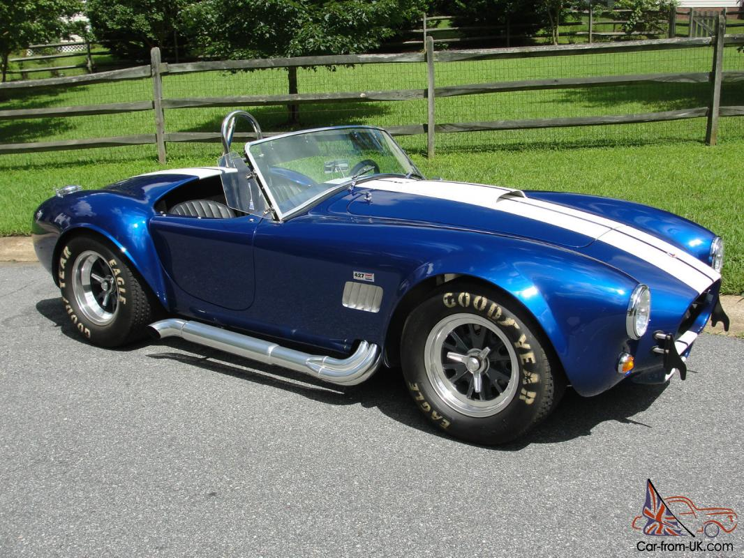 "Cobra Kit Car Price >> 1965 A.C. COBRA ""427"" S/C- ALL ALUMINUM ALLOY BODY BY KIRKHAM."