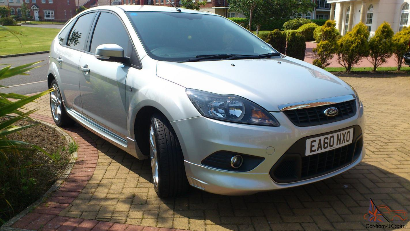 2010 ford focus zetec s tdci 109 silver. Black Bedroom Furniture Sets. Home Design Ideas