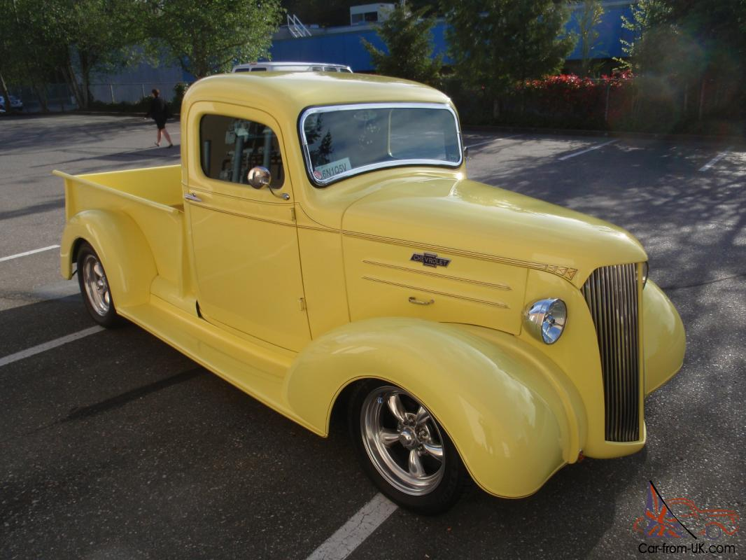 1937 Chevrolet Pickup Truck Amazing Hot Rod