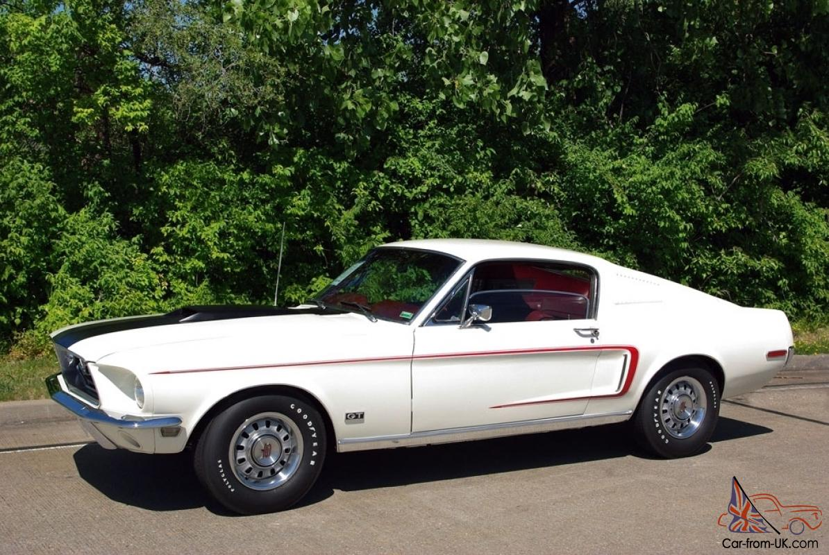 Ford Mustang Genuine Ultra Rare 1968 5 428 Cobra Jet Gt