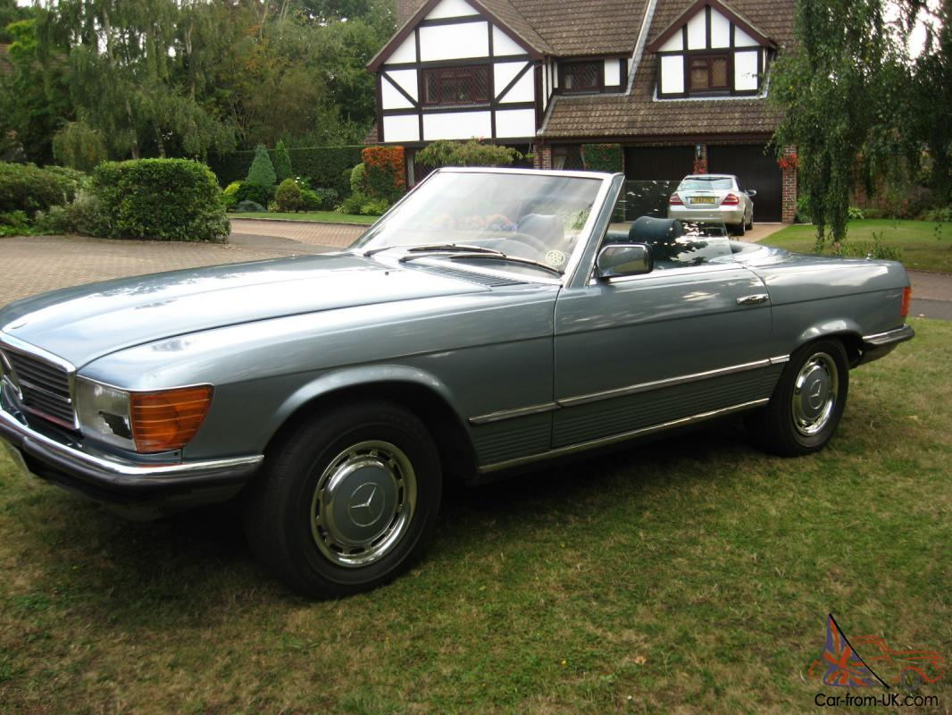 Mercedes benz 450sl 1975 lhd for 1975 mercedes benz 450sl convertible