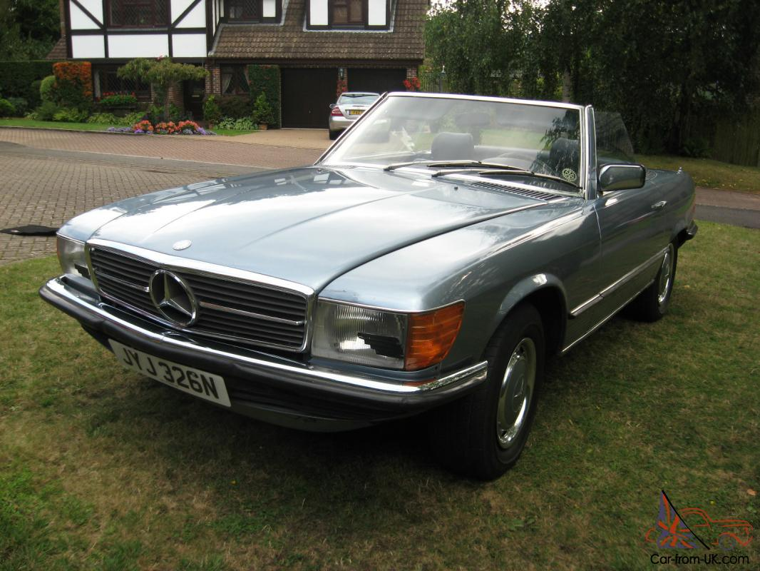 Mercedes benz 450sl 1975 lhd for Used mercedes benz for sale on ebay