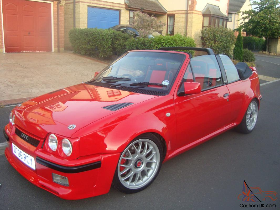 1987 vauxhall astra gte convertible red. Black Bedroom Furniture Sets. Home Design Ideas
