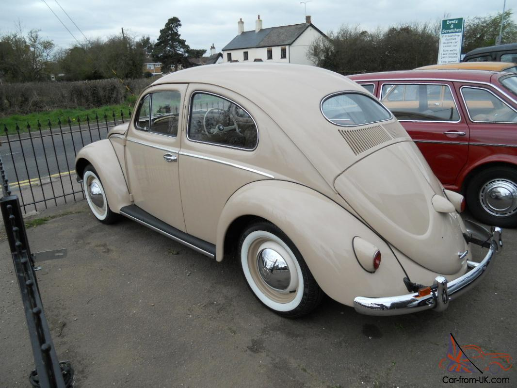 1957 oval window volkswagen beetle