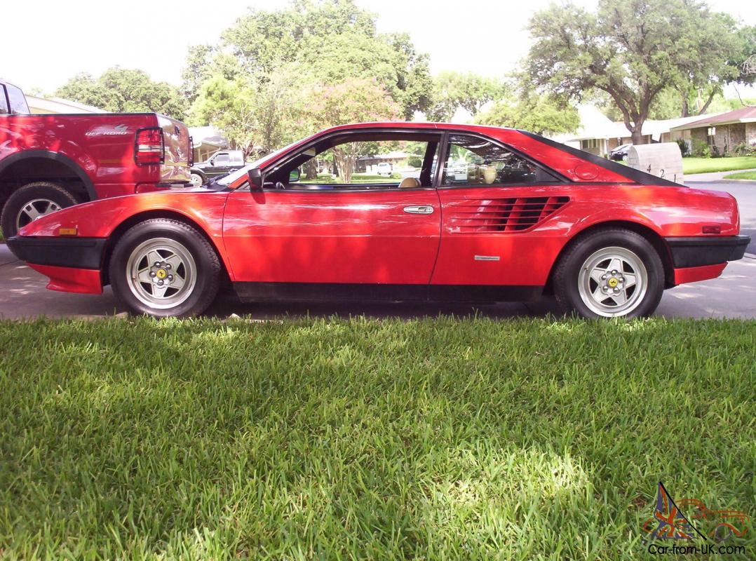 1983 ferrari mondial 8 base coupe 2 door 3 0l. Black Bedroom Furniture Sets. Home Design Ideas