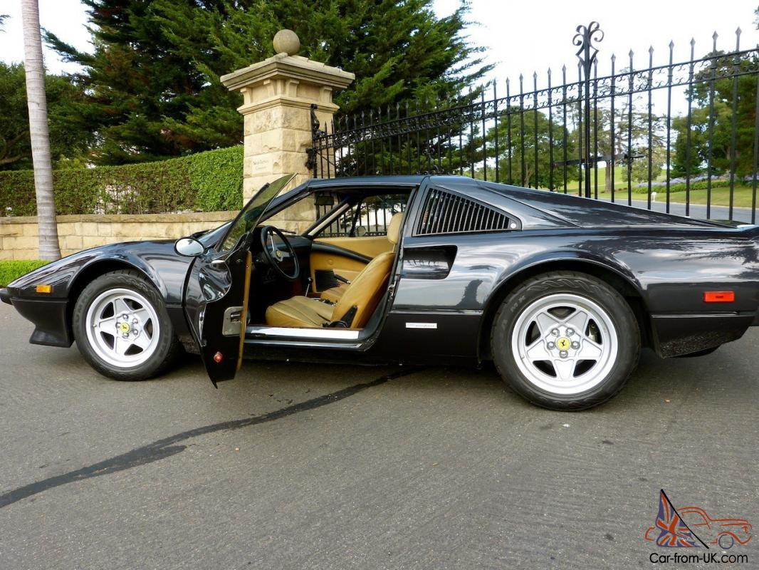 1978 ferrari 308 gts two owner. Black Bedroom Furniture Sets. Home Design Ideas