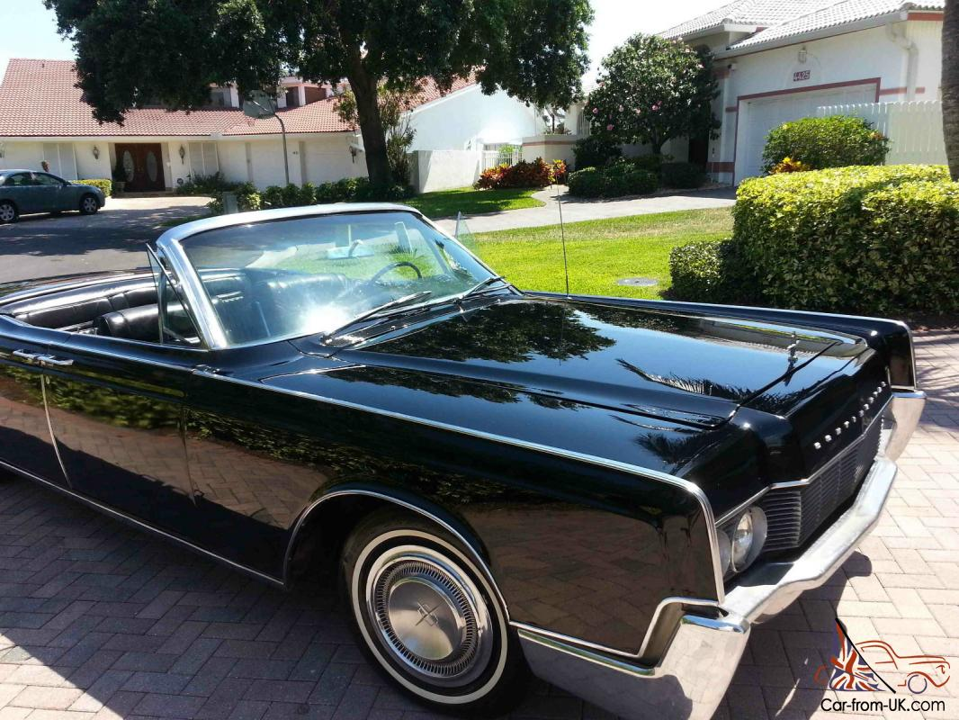 1967 lincoln continental convertible 7 6l. Black Bedroom Furniture Sets. Home Design Ideas