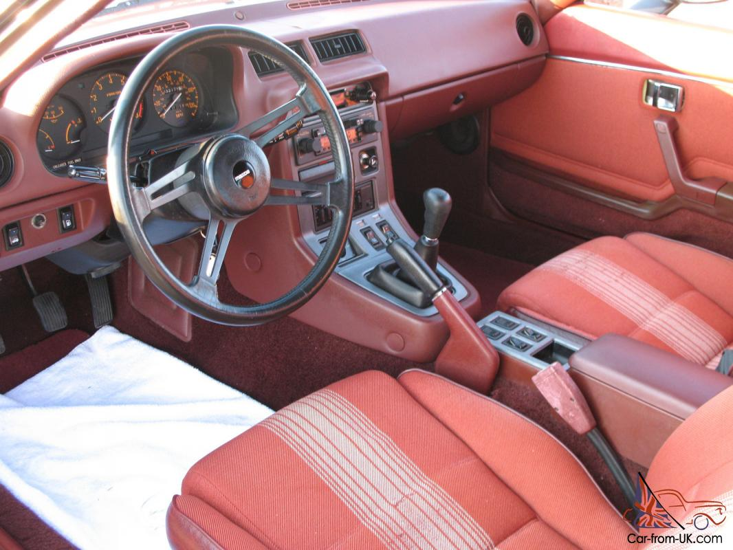 1983 Mazda Rx7 Gsl 1 Owner Only 32 164 Miles No Rust Good Condition Runs Great