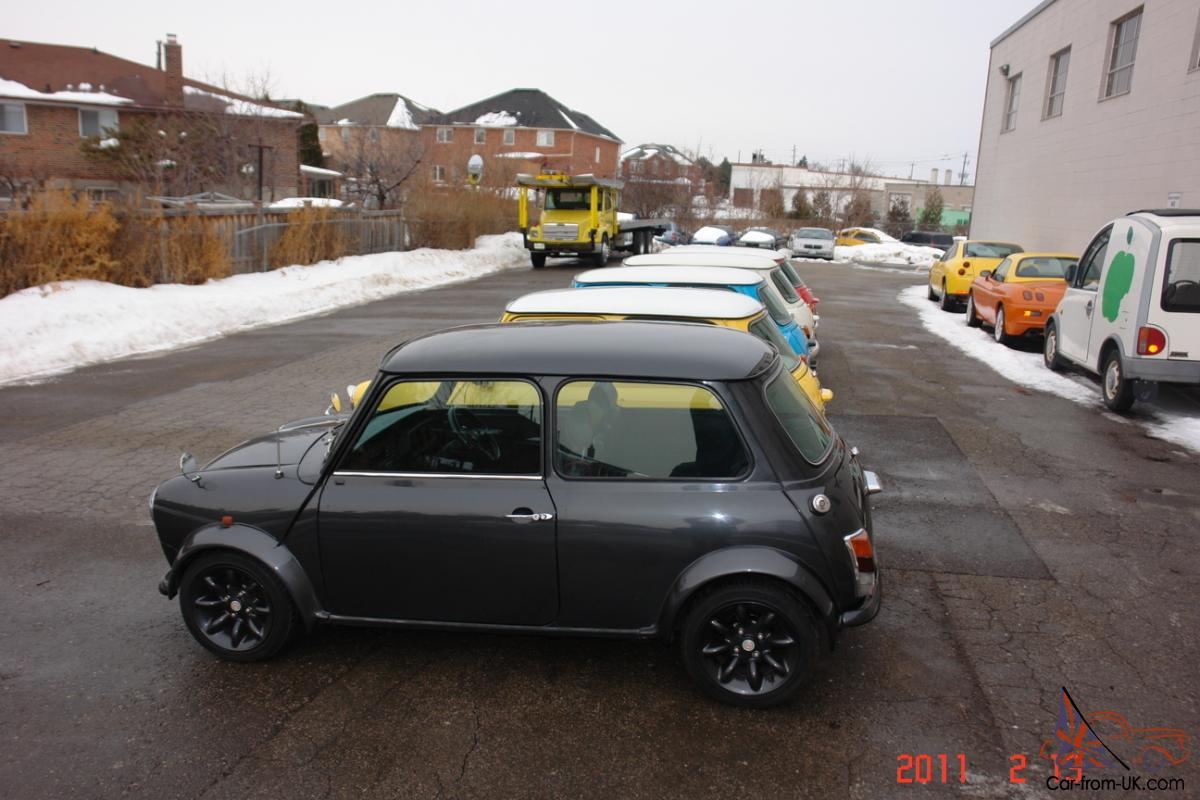 custom built mini cooper to your spec ext int colors rustfree shell