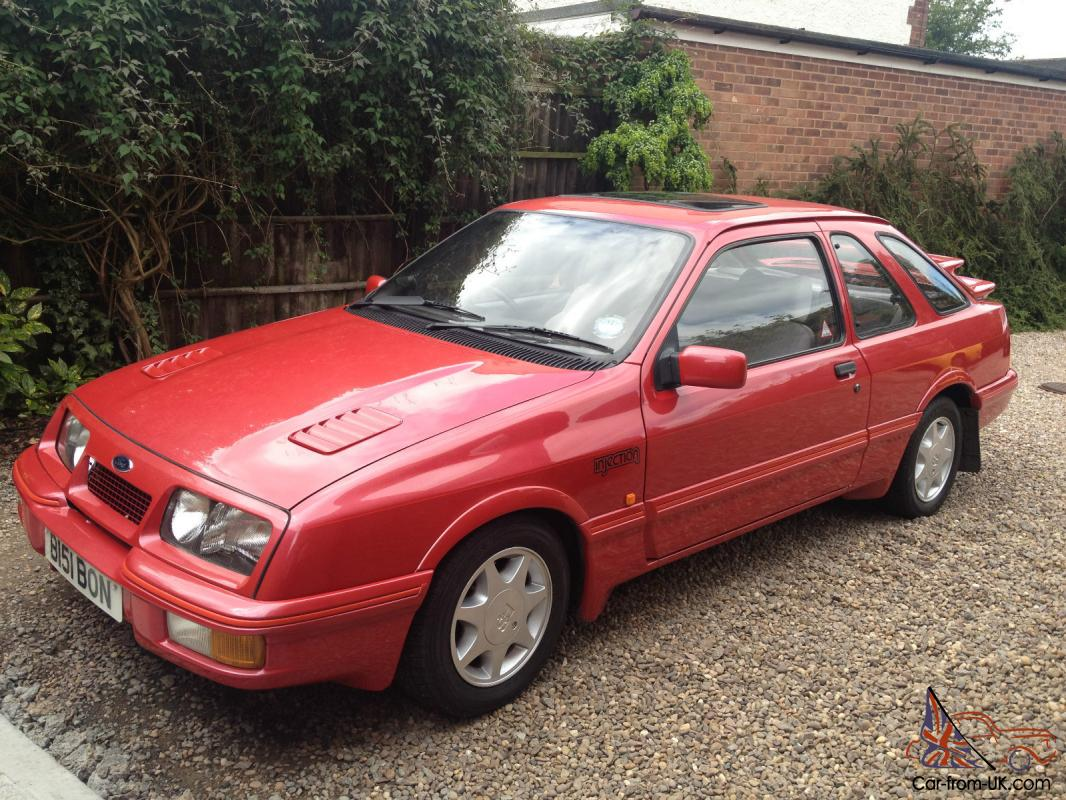 ford sierra xr4i 1984 stunning codition no welds or rust really looked after. Black Bedroom Furniture Sets. Home Design Ideas