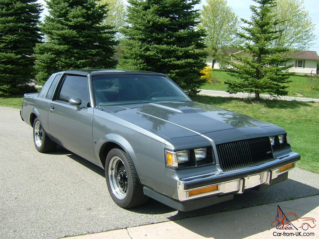 1987 BUICK REGAL T-TYPE COUPE 3.8L TURBO SAME AS GRAND ...