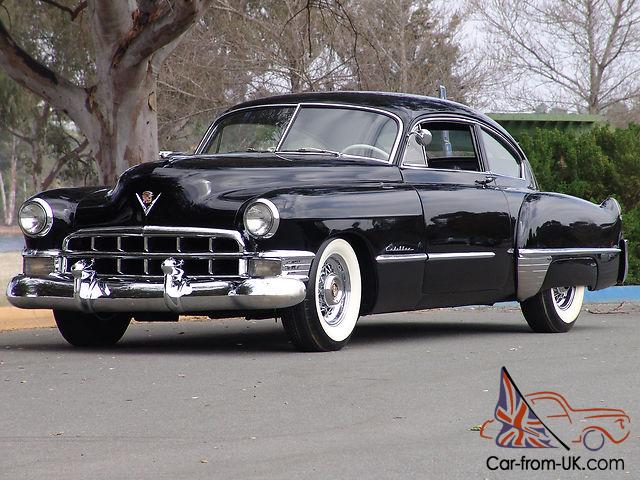 1949 Cadillac Series 61 Sedanette Fastback very rare and desirable