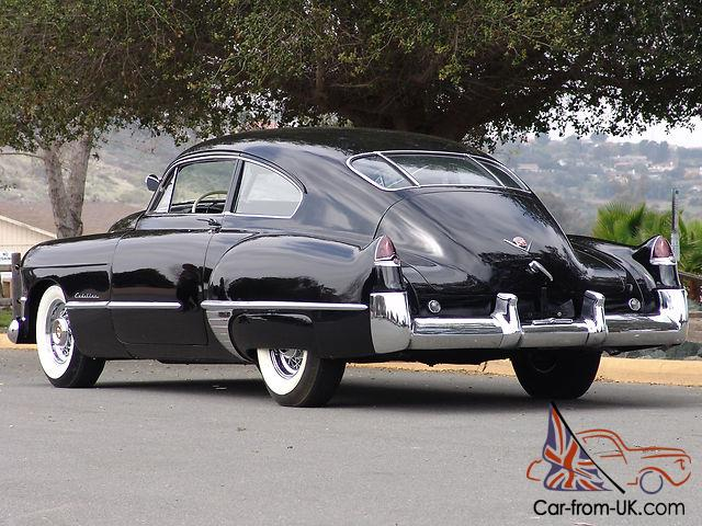 1949 cadillac series 61 sedanette fastback very rare and desirable. Black Bedroom Furniture Sets. Home Design Ideas