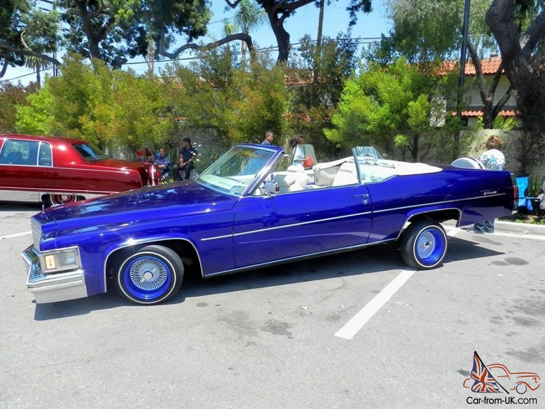 Convertible Le Cabriolet Very Hard To Find Lowrider With