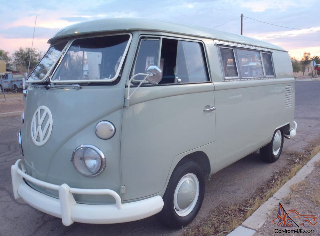 1967 Vw Volkswagen Bus Riviera Camper Walkthru Type 2