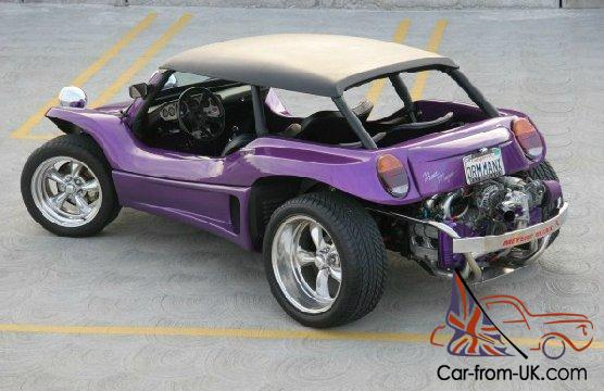 New Meyers Manxter 2 2 Beach Buggy On 1974 Vw Chassis