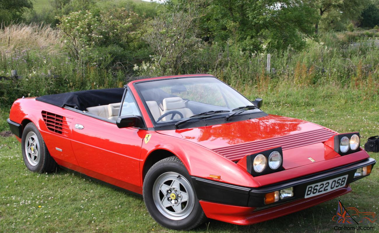 ferrari mondial qv cabrio bj 1985 ferrari mondial 1985 3 0 qv cabriolet ferrari mondial. Black Bedroom Furniture Sets. Home Design Ideas