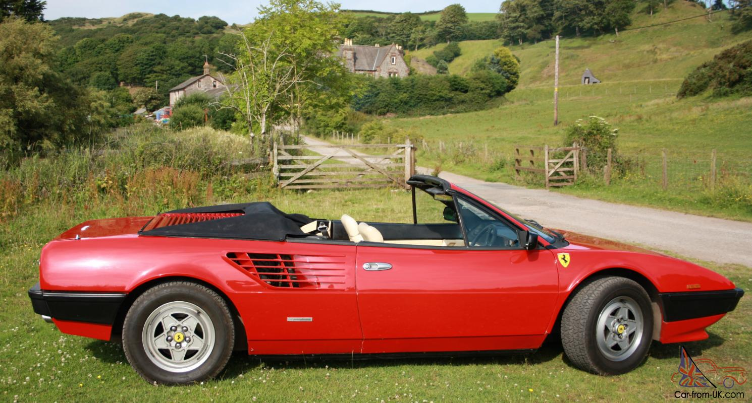 1985 ferrari mondial cabriolet value 1985 ferrari mondial convertible 131048 1985 ferrari. Black Bedroom Furniture Sets. Home Design Ideas