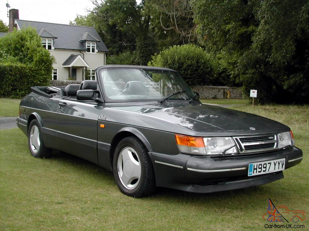 1991 saab 900 turbo 16s convertible auto. Black Bedroom Furniture Sets. Home Design Ideas