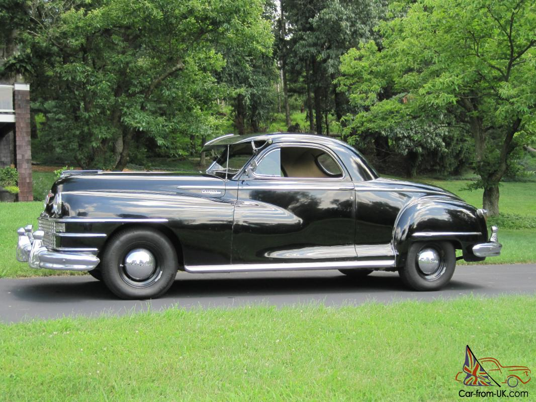 1948 chrysler windsor 3 window business coupe for 1941 chrysler royal 3 window coupe