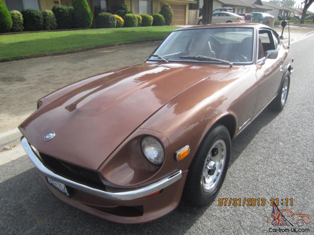 240sx Fairlady >> Restored 1973 Datsun 240z 5 Spd Very Clean 260z 280z 240sx 350z