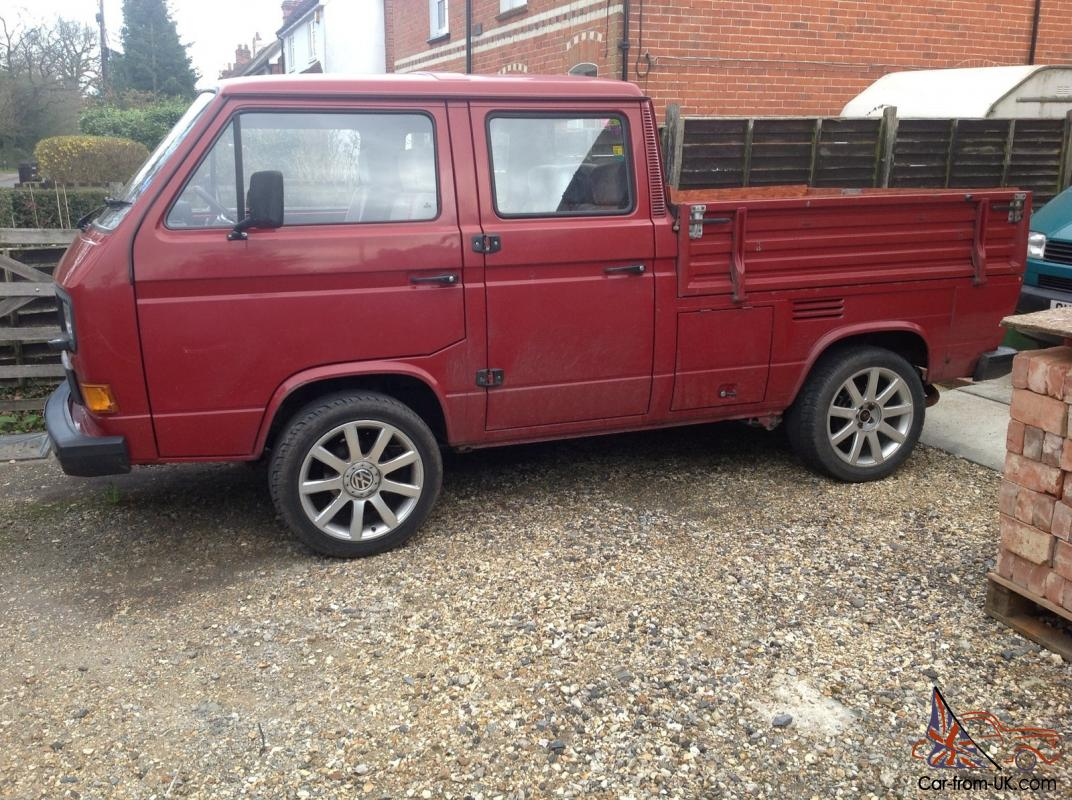 Vw T25 Crewcab Pickup