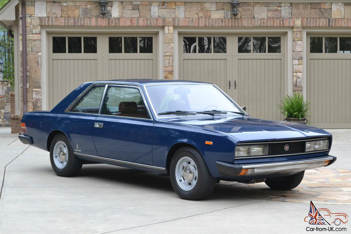 fiat 130 pinninfarina coupe luxury model very rare in the usa 5 speed leather. Black Bedroom Furniture Sets. Home Design Ideas