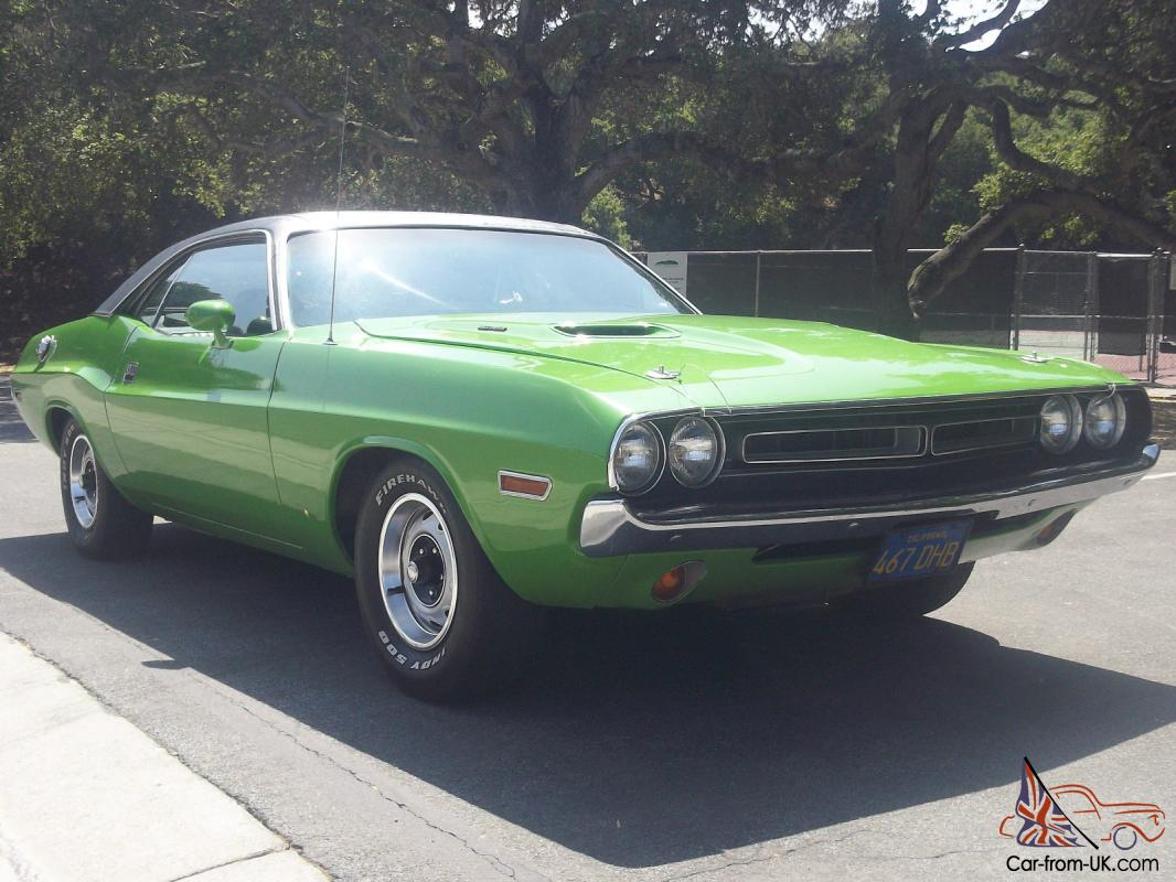 Dodge Challenger Image: 71 Dodge Challenger For Sale Uk