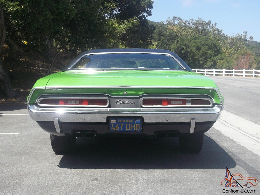71 Challenger Number Matching